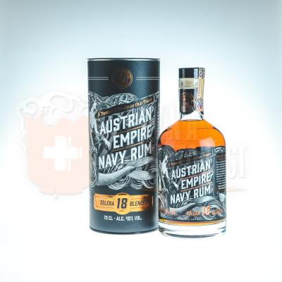 Austrian Empire Navy Rum Solera 18  0,7l 40%