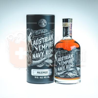 Austrian Empire Navy Rum Maximus  0,7l 40%