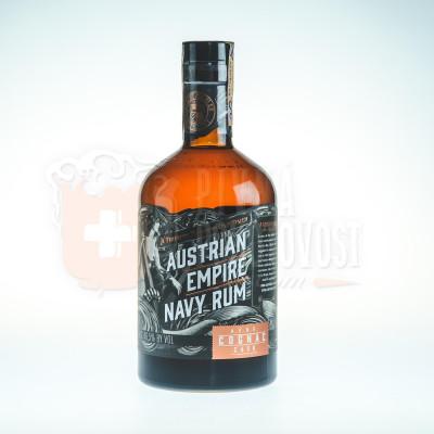 Austrian Empire Navy Rum Cognac Cask tuba 0,7l 46,5%