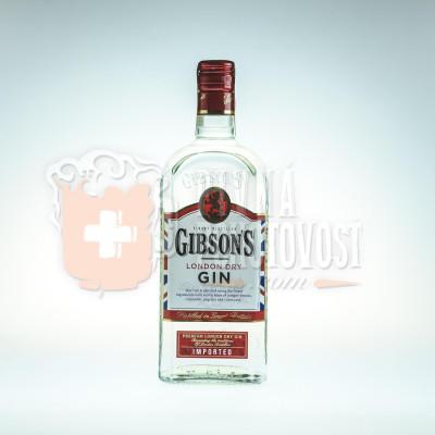 Gibsonś Gin 0,7l 37,5%