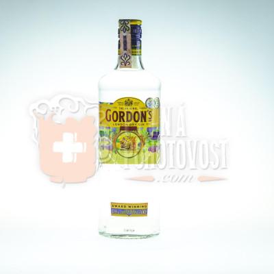 Gordonś London Dry Gin 0,7l 37,5%