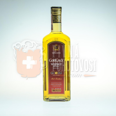Gold Cock Whisky 3r. 0,7l 40%