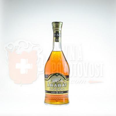 Ararat 5r. Brandy 0,7l 40%