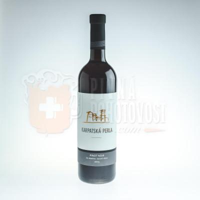 Karpatská Perla Pinot Noir 2013 0,75l