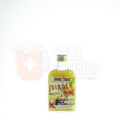 Ginger Shot 100% zázvorový extrakt citrón a med 0,2l