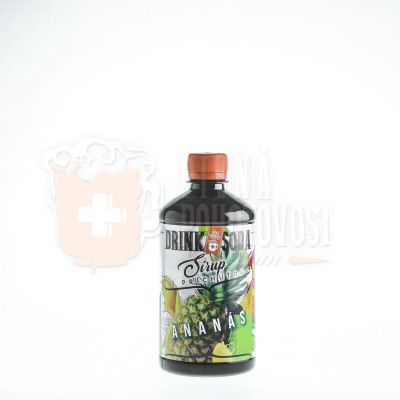 DrinkSoda Sirup s príchuťou Ananás 0,5l