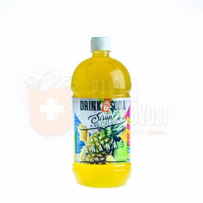 DrinkSoda Sirup s príchuťou Ananás 1L