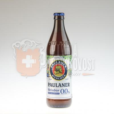 Paulaner Hefe Weissbier Alkoholfrei 0,5 l sklo