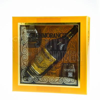 Glenmorangie Original 10r. darčekový set + 2 poháre 0,7 l 40%