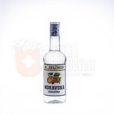 R.Jelínek, Moravská Meruňka 0,5L, 40%
