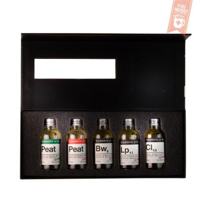 Elements of Islay Tasting box 2020 5 x 0,03l