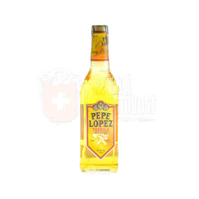 Pepe Lopez Tequila Gold 0,7l 40%