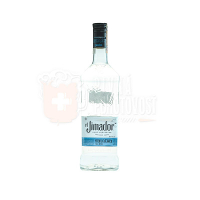 EL JIMADOR SILVER 100% BLUE AGAVE, 0,7l 38%