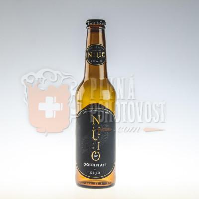 Nilio Beer Golden ALE 4,0% 0,33l sklo