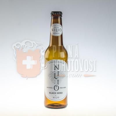 Nilio Beer Black Hero Nealko 0,5% 0,33l sklo