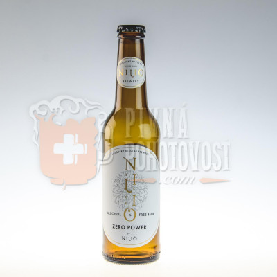 Nilio Beer Zero Power Nealko 0,5% 0,33ml