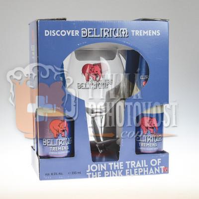 Delirium Tremens darčekový set 4 x 0,33 l