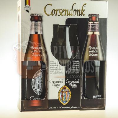 Corsendonk darčekový set 2x 0,33l sklo